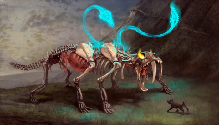 Undead+Displacer+Beast
